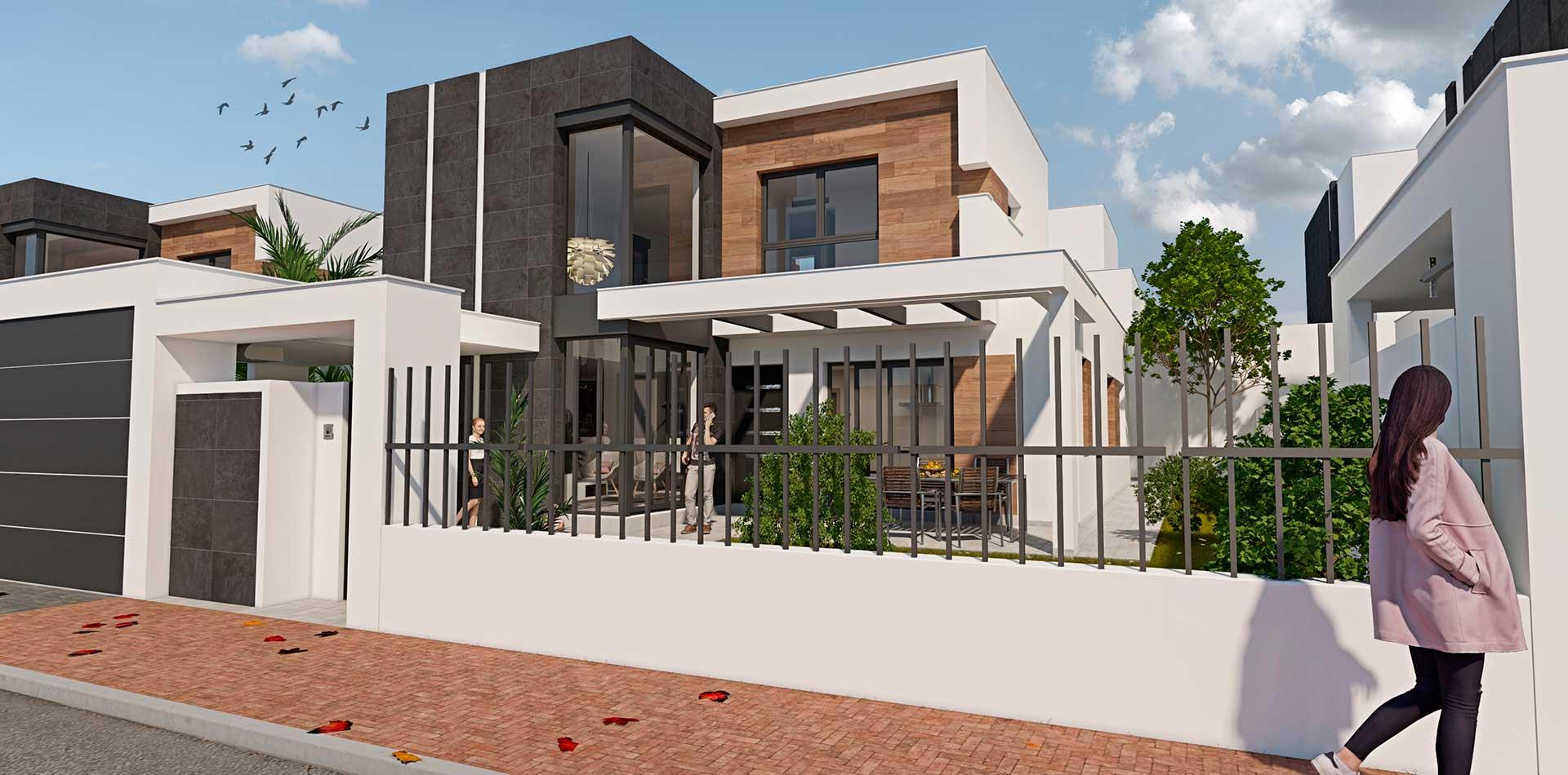Casa diseño Murcia