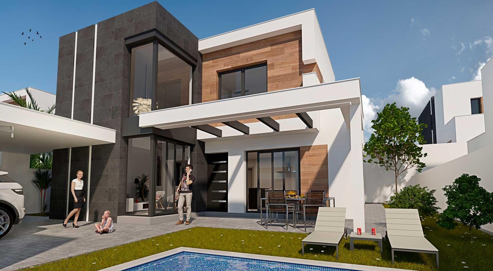 Casa diseño moderno Murcia
