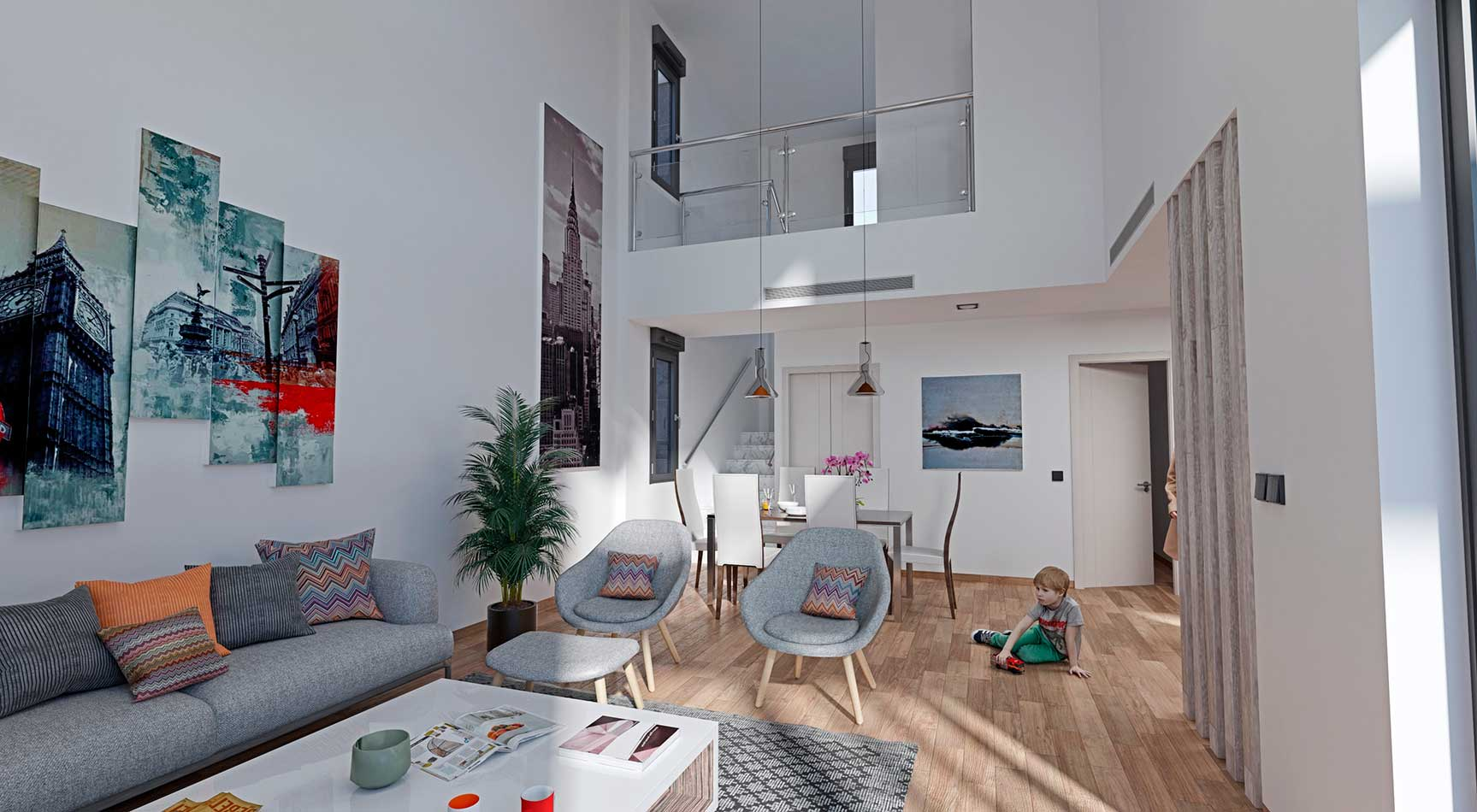 interior diseño nórdico murcia
